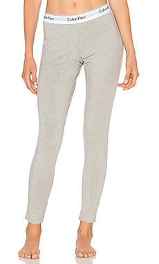 Modern Cotton Legging in Grey Heather