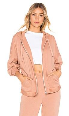 Tonal Logo Full Zip Hoodie Calvin Klein Underwear $47