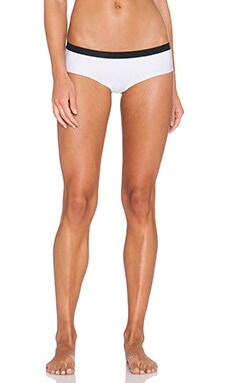 Calvin Klein Underwear New Flex Motion Bikini Panty in White Colorblock