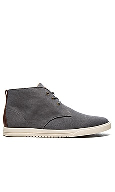 Clae Strayhorn Textile in Charcoal Canvas