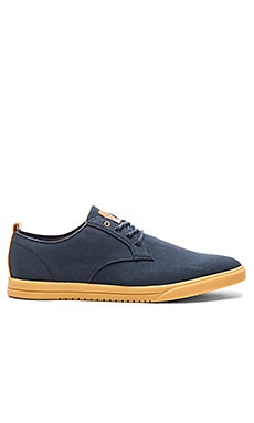 Clae Ellington Textile en Deep Navy Canvas