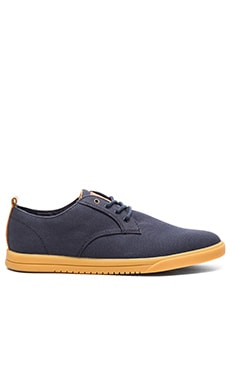 Clae Ellington Textile in Deep Navy Canvas