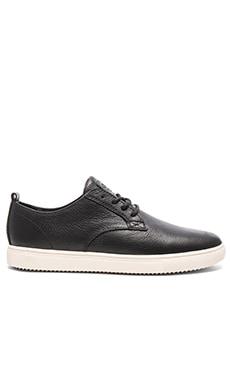 Clae Ellington SP in Black Tumbled Leather