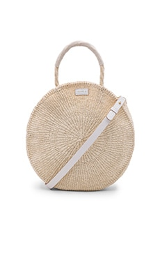 Clare V. Alice Bag in Cream Woven
