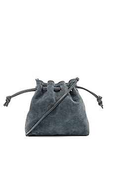 Petit Henri Maison Pouch in Slate Suede