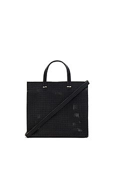 Petit Simple Tote Perf in Schwarz