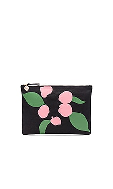 Flat Maison Canvas Clutch