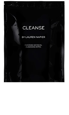 The Abundance Facial Cleansing Wipes CLEANSE by LAUREN NAPIER $40