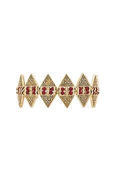 Cleobella Cameron Bracelet in Brass & Coral