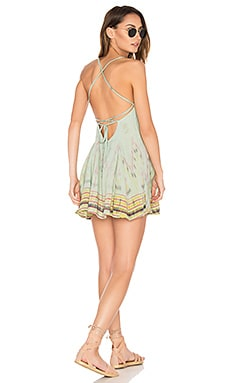 St. Kitts Mini Dress in Jade