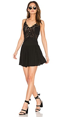 Biarritz Short Dress in Black