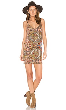 Leanne Slip Dress in Rocker Paisley