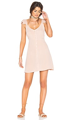 Vinita Short Dress in Blush