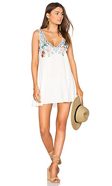 Carnival Short Dress in Ivory