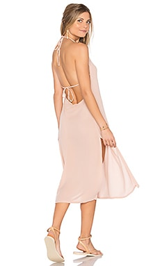 Radium Midi Dress in Blush