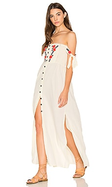 Solita Maxi Dress in Ivory