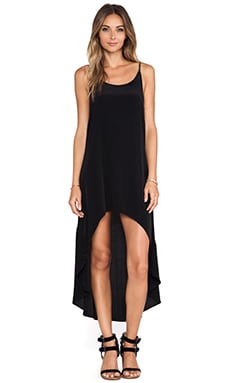 Cleobella Elise High Low Dress in Black