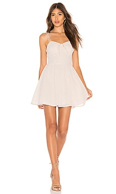 X REVOLVE Lennon Short Dress Cleobella $143