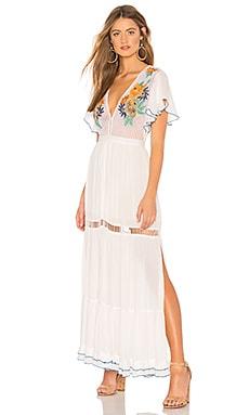 Фото - Платье bora bora - Cleobella белого цвета