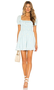 x REVOLVE Belinda Mini Dress Cleobella $49 (FINAL SALE)