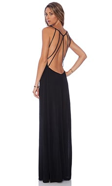 Cleobella Isla Beaded Maxi in Black