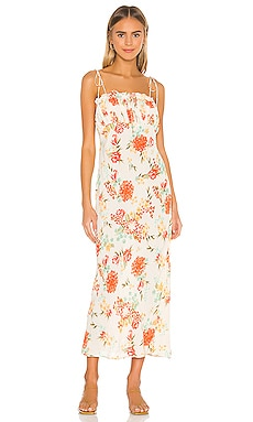 X REVOLVE Rowan Midi Dress Cleobella $178 BEST SELLER
