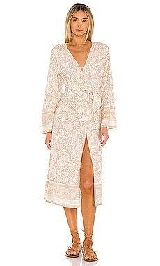 Garnet Midi Kimono Cleobella $198