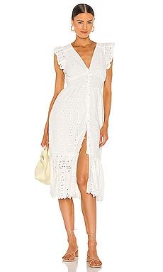Brielle Midi Dress Cleobella $208 NEW