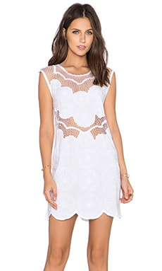 Cleobella Echo Dress in White