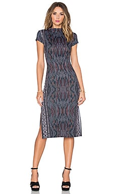 Cleobella x ROVE Lima Dress in Vintage Ikat Print