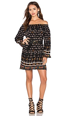 Dresden Dress in Tribal Print