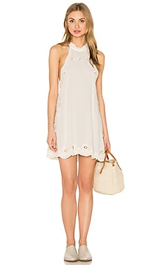Raquel Short Dress in Ivory