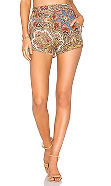Magnolia Shorts in Rocker Paisley