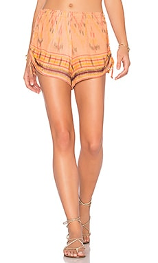 Monclova Shorts in Coral