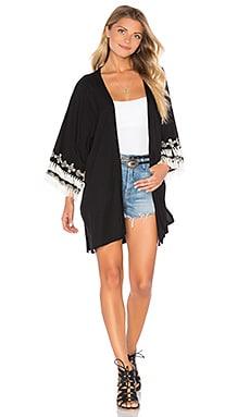 Cleobella Lee Kimono in Black