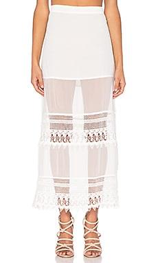 Cleobella Samar Skirt in Ivory