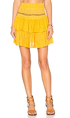 Cleobella Lara Skirt in Yellow