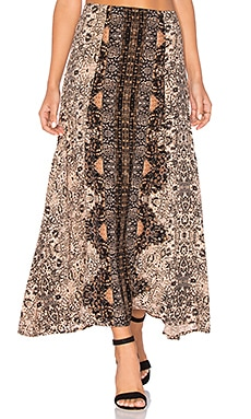 Victoria Skirt in Turkish Rug Print