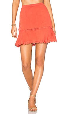 Maxine Skirt in Coral
