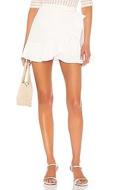Olivier Wrap Skirt Cleobella $128