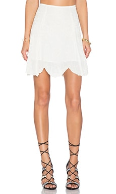 Cleobella Asilah Skirt in Ivory