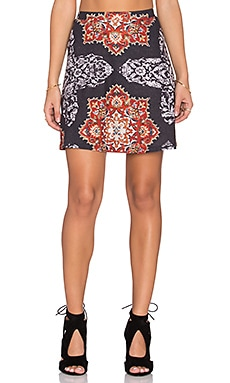 Cleobella x ROVE Breezy Skirt in Barque Print