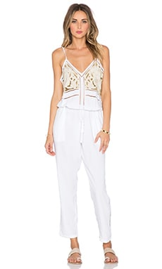 Cleobella Mona Jumpsuit in White