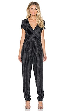 Cleobella Penelope Jumpsuit in Textured Stripe