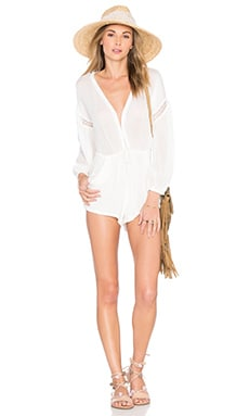 Lillo Romper in Ivory