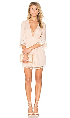 River Romper in Blush & Ivory