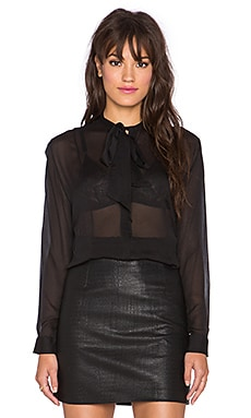 Cleobella Tilda Blouse in Black