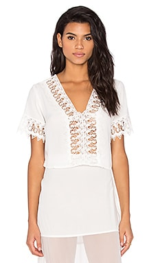 Gavi Top in Ivory