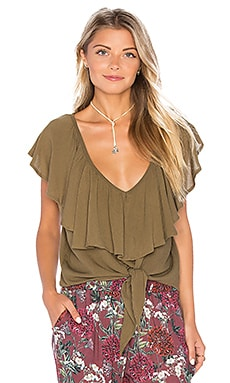 Monique Top in Olive