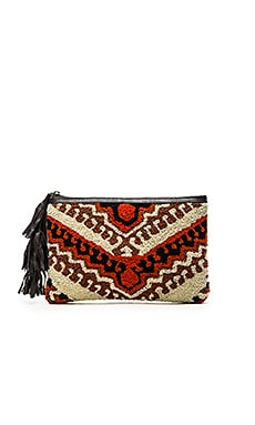 Sintra Clutch in Ivory